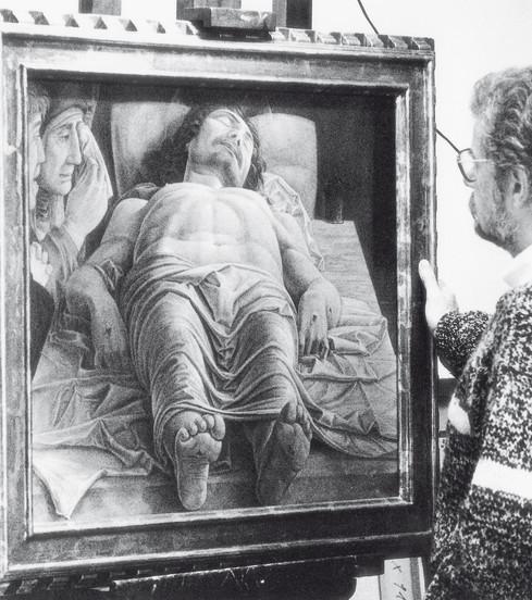 Cristo Morto - Mantegna - 1987
