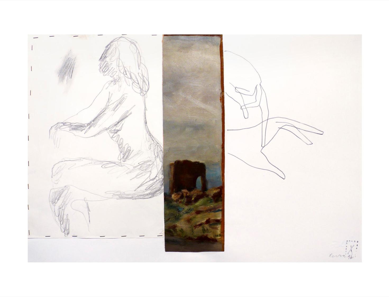 Nudo e paesaggio - 1997