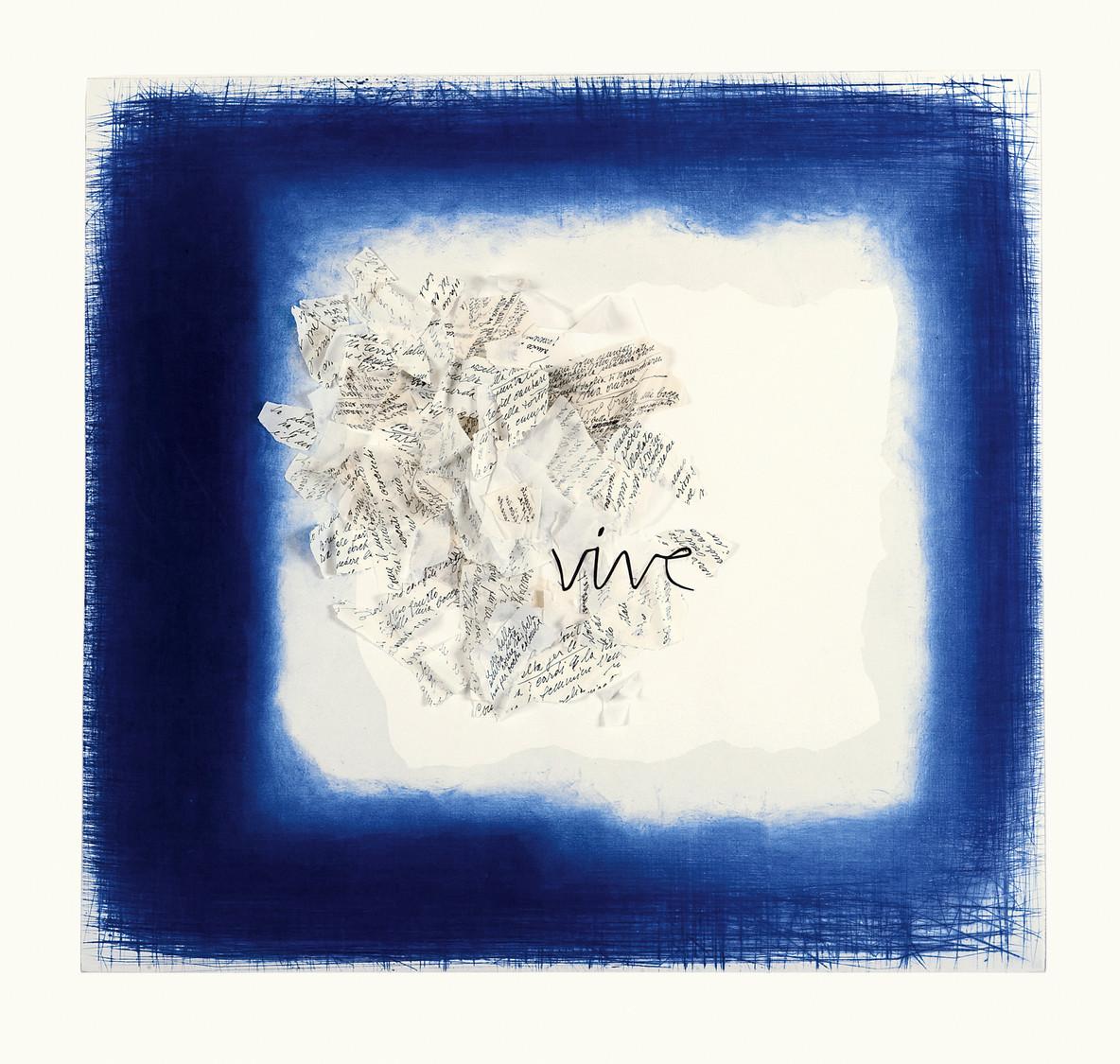 VIVE (dal Cantico dei cantici) - 110 x 115 cm