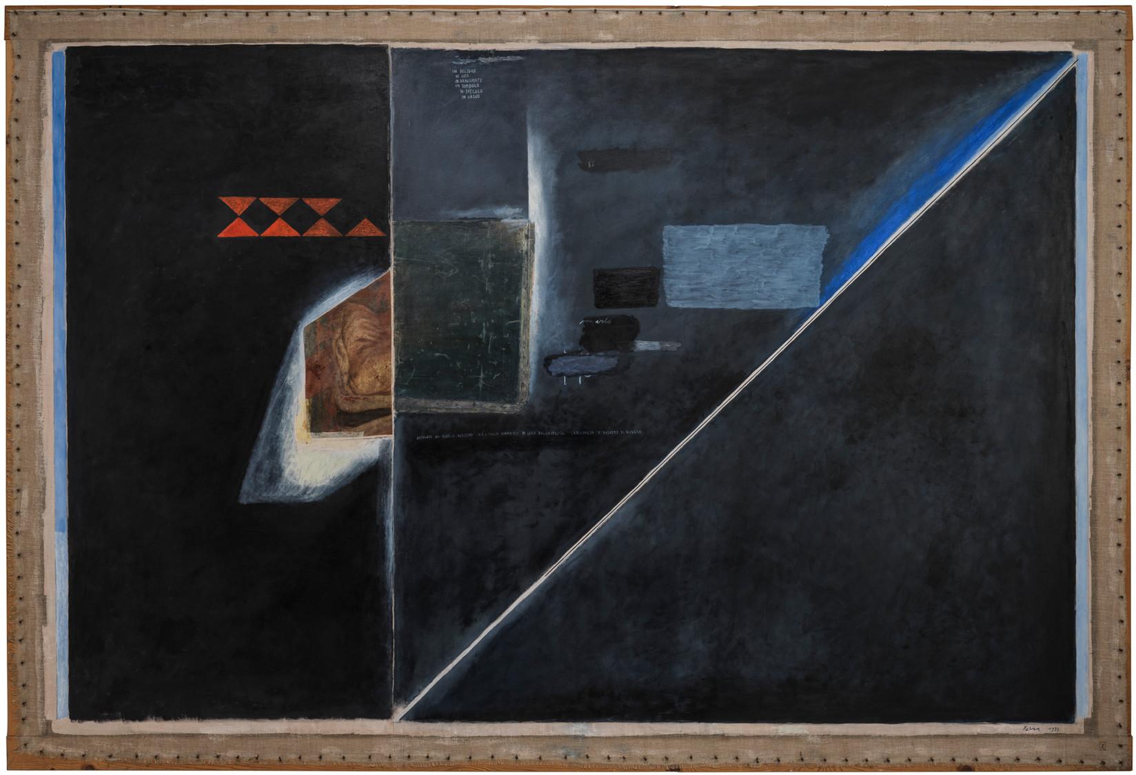 In speculo - dedicato a Emilio Villa - 1993