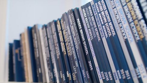 Books Are the Subject of this Creative B-Roll Shot from Marketing Communications Video