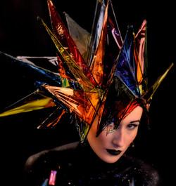 Kaleidoscope / Stainglass Headdress