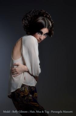 Avant garde Weave hairstyle 3