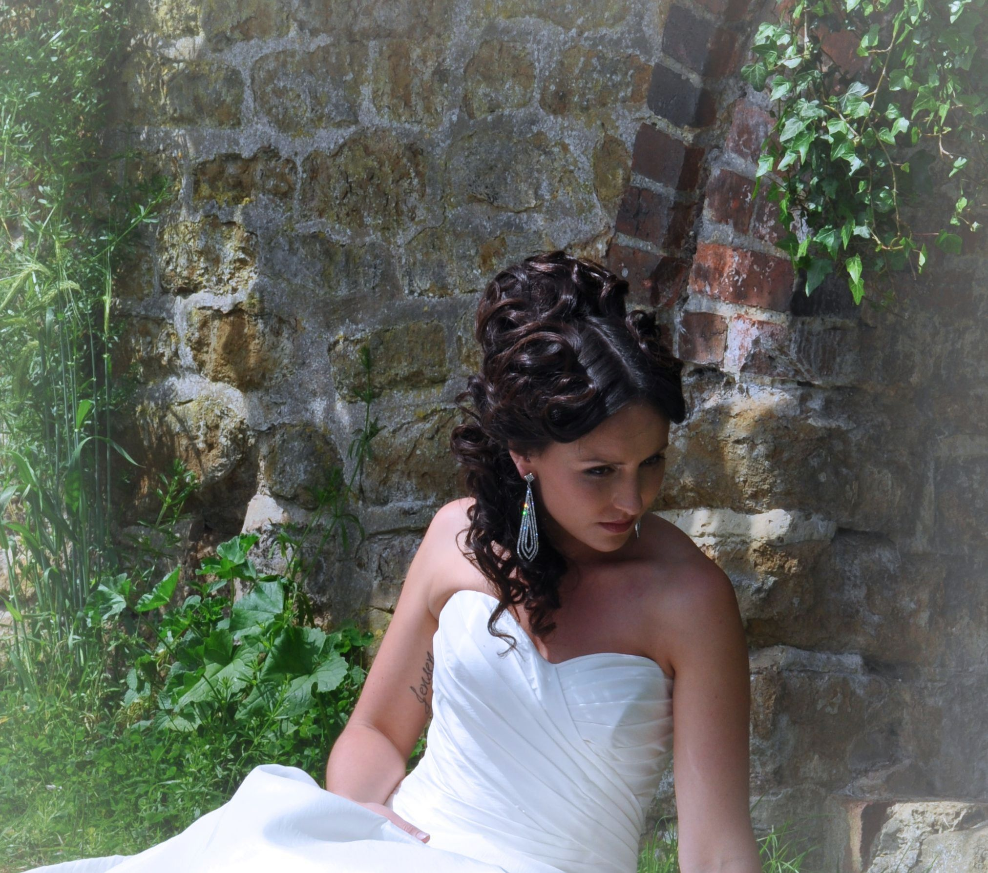 wedding hair avantgarde