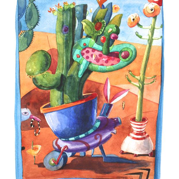 Desert Gardener's Conflict - SOLD