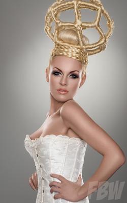 Hairsculpture by Pierangela
