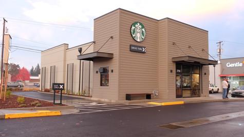 Starbucks/Gentle Dental, Albany