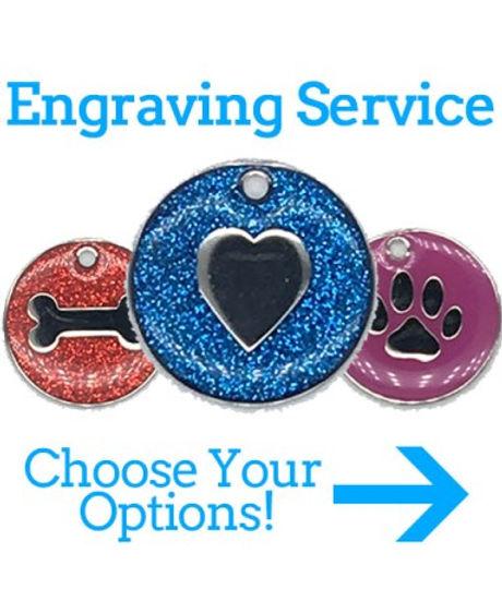 Pet ID Tag Engraving