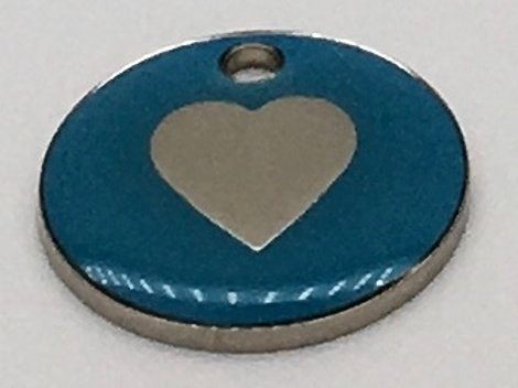 20mm Pet ID Tags - Fully engraved in house