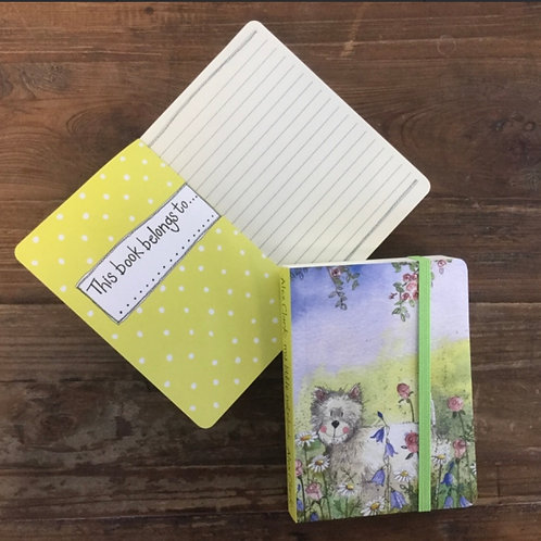 Westie Dog Small Chunky Notebook