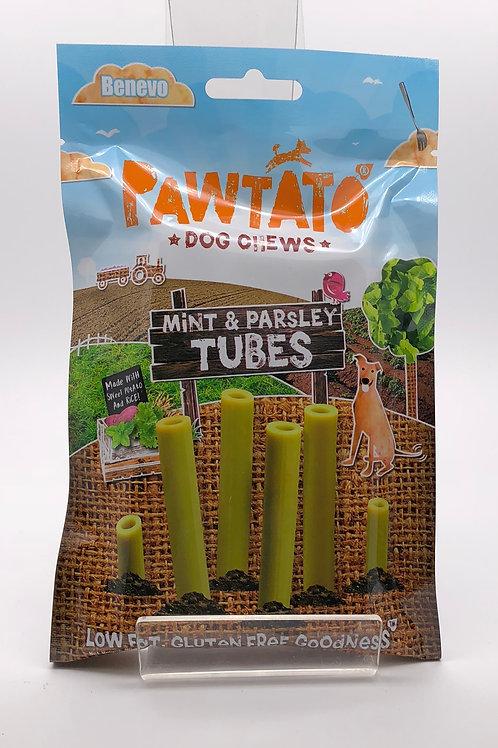 Pawtato Dog Chew Tubes