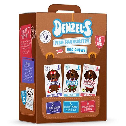 Denzel's Dog Chews Fish Variety 6 x 55g