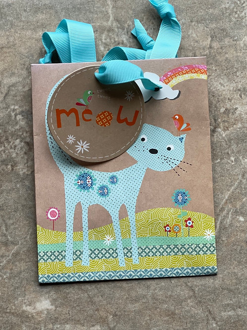 Small Cat Gift Bag