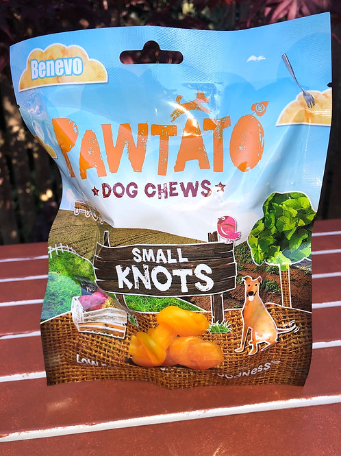 Pawtato Dog Chews - Small Knots