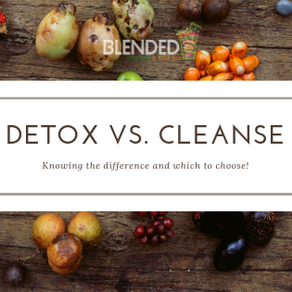 Detox vs. Cleanse