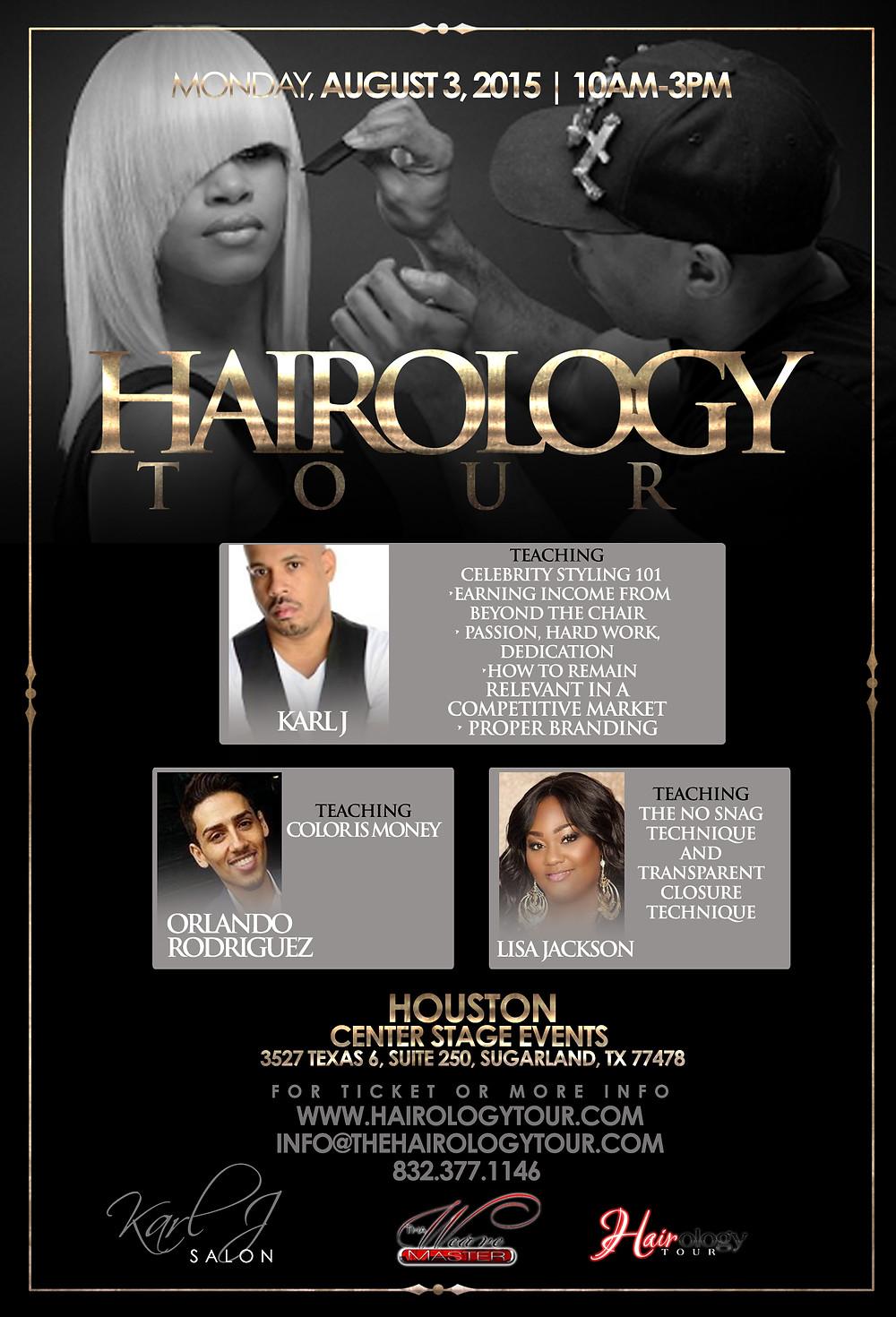 Hairology Tour with Celebrity Hair Stylist Karl J