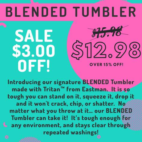BLENDED Tumbler