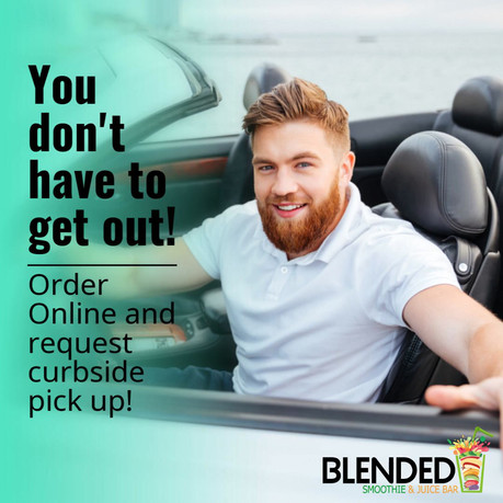Online Ordering with Curbside Pick up!