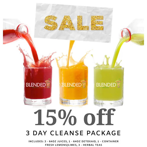 3 Day Fresh Juice Cleanse