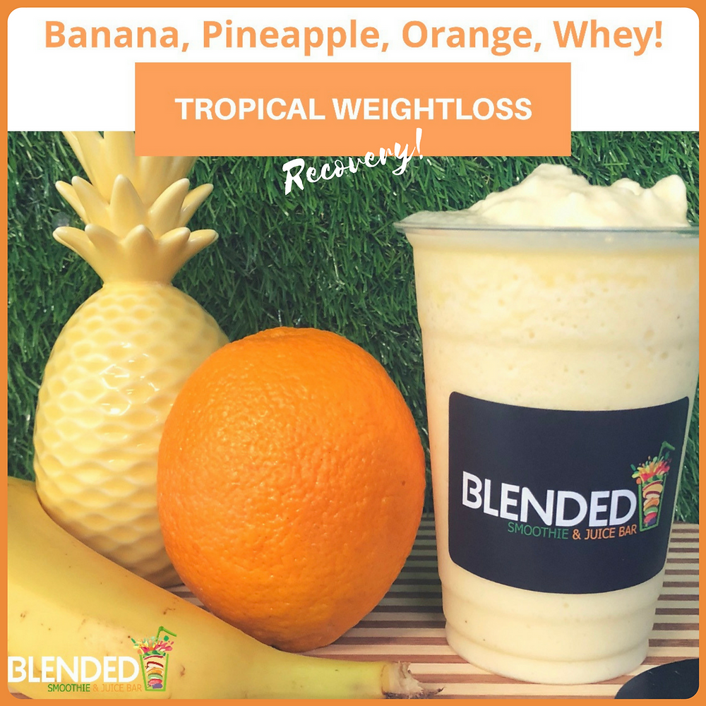 Blended Smoothie & Juice Bar Tropical Weight-loss Recovery