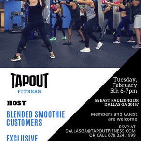 FREE Fitness Class for all BLENDED Customers