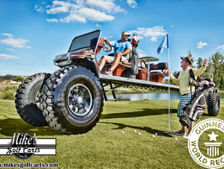 Golf Cart World Records