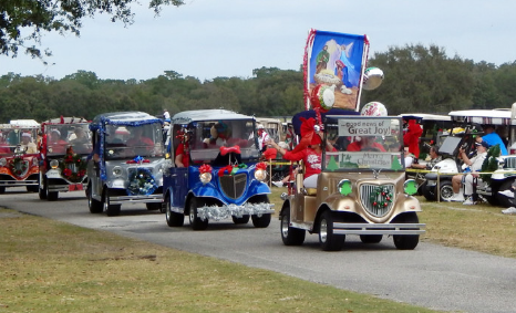 worlds longest golf cart parade