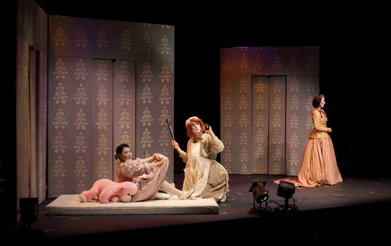 Rong Fu in marquise of O -- (SummerWorks)
