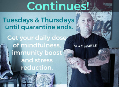 Qigong with Chris Shelton 8am pacific Tuesdays&Thursdays