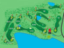 Laidley Golf Club Course Layout