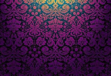 purple and black damask pattern facebook