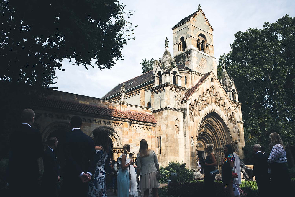 Wedding at the Vajdahunyad Castle in Budapest - church venue