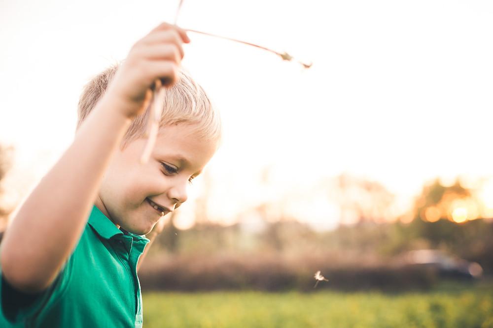 őszi családi fotózás solymáron búza szállal
