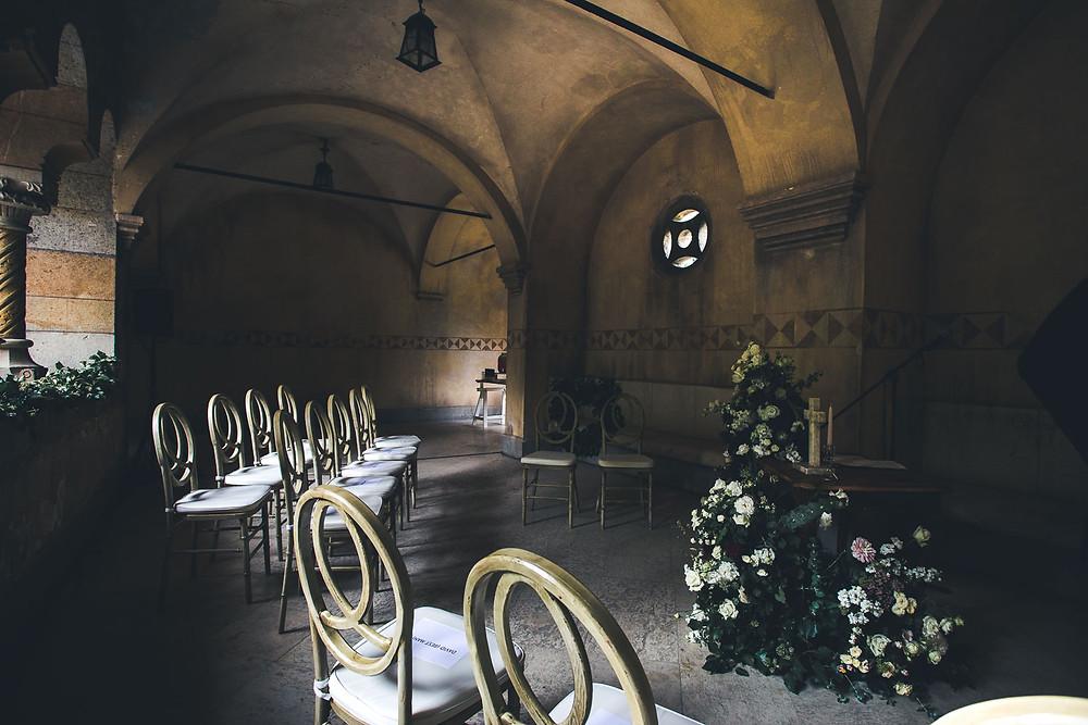 Wedding at the Vajdahunyad Castle in Budapest - ceremony venue