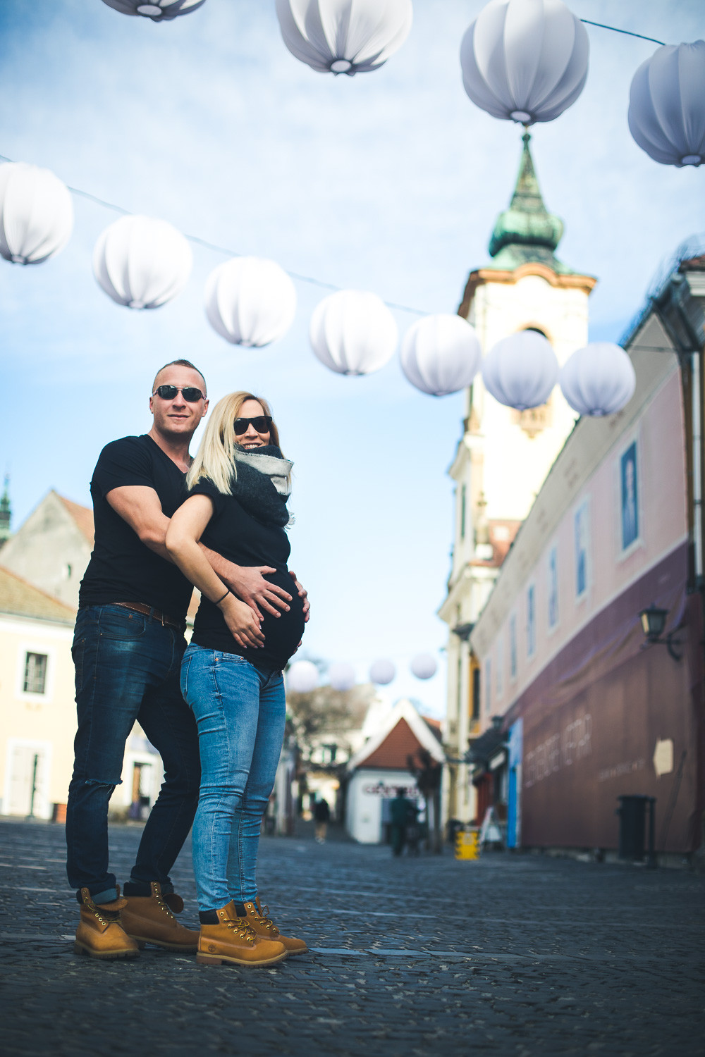 Maternity pictures in Szentendre