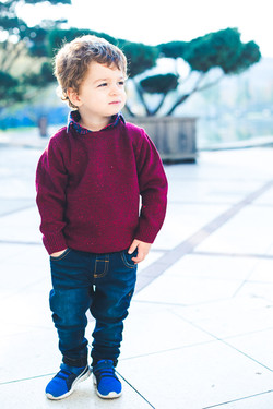 cool portrait of a 3 year old boy