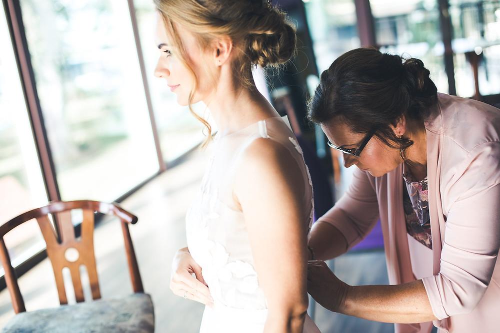 Balatoni Esküvő a Tópart Hotelben készülődés