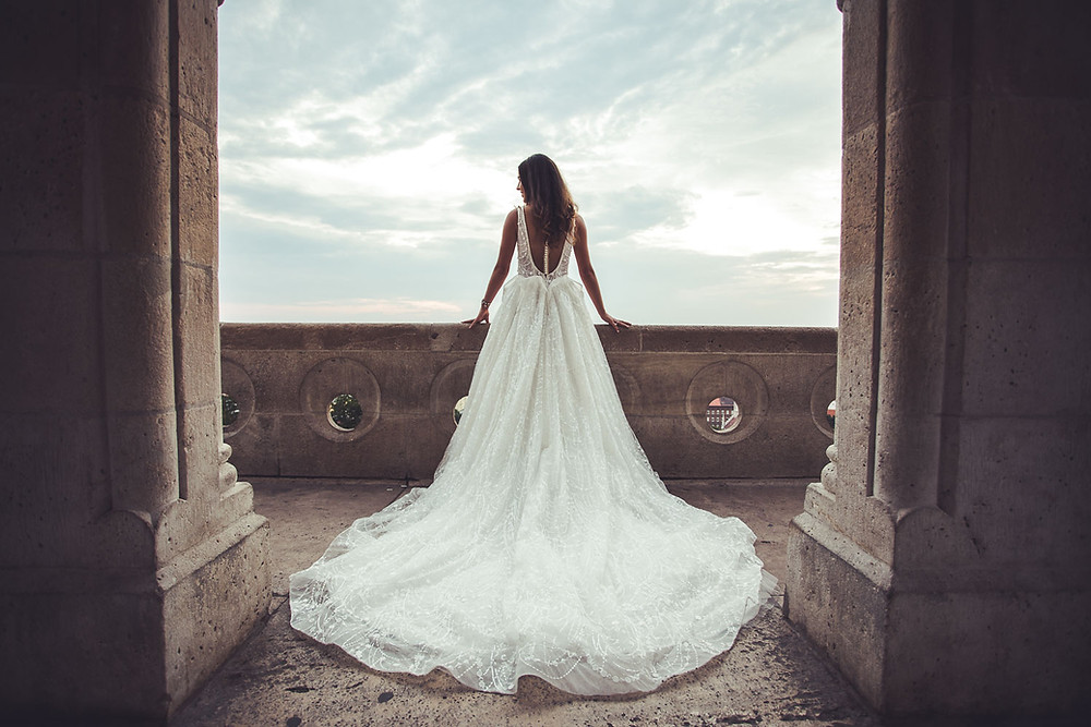 Wedding Pictures at Fisherman's Bastion
