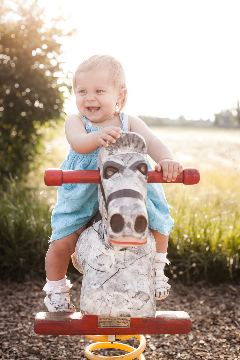 little girl on a horse