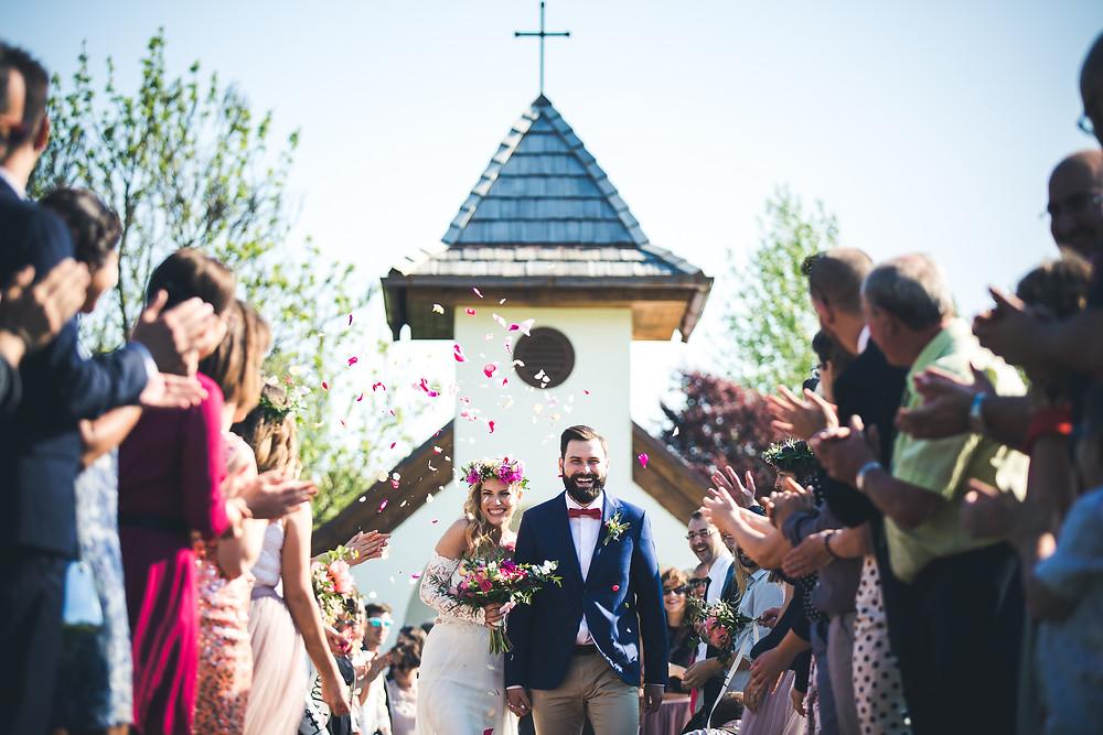 Secret Stories szolgáltatói ajánló - kivonulás az esküvői szertartásról