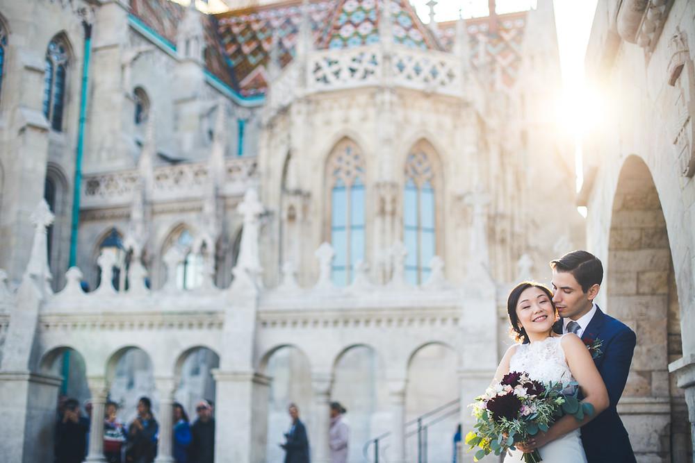 Secret Stories szolgáltatói ajánló esküvői kép a halászbástyán