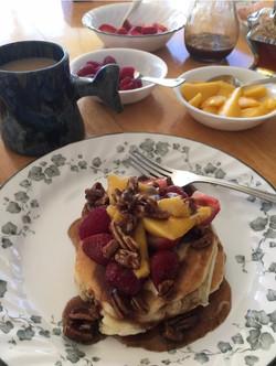 B pancakes