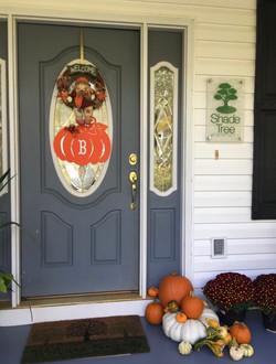 D autumn door