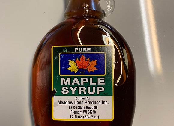 3/4 Pint Maple Syrup