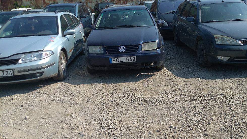 VW BORA V/N EOL649 2001M. KURAS DYZELINAS. DUOMENYS NENUSTATYTI.