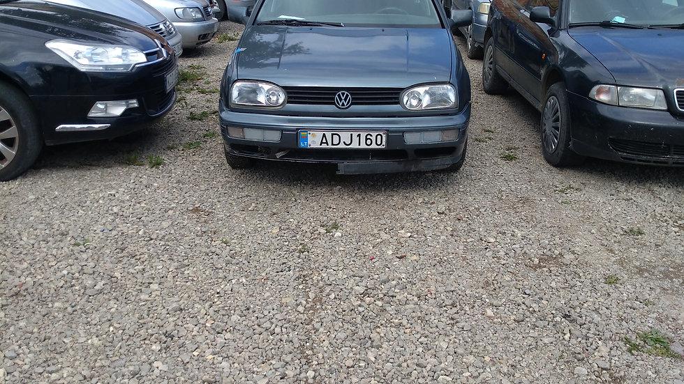 VW GOLF V/N ADJ160 1997M. KURAS DYZELINAS. DUOMENYS NENUSTATYTI.