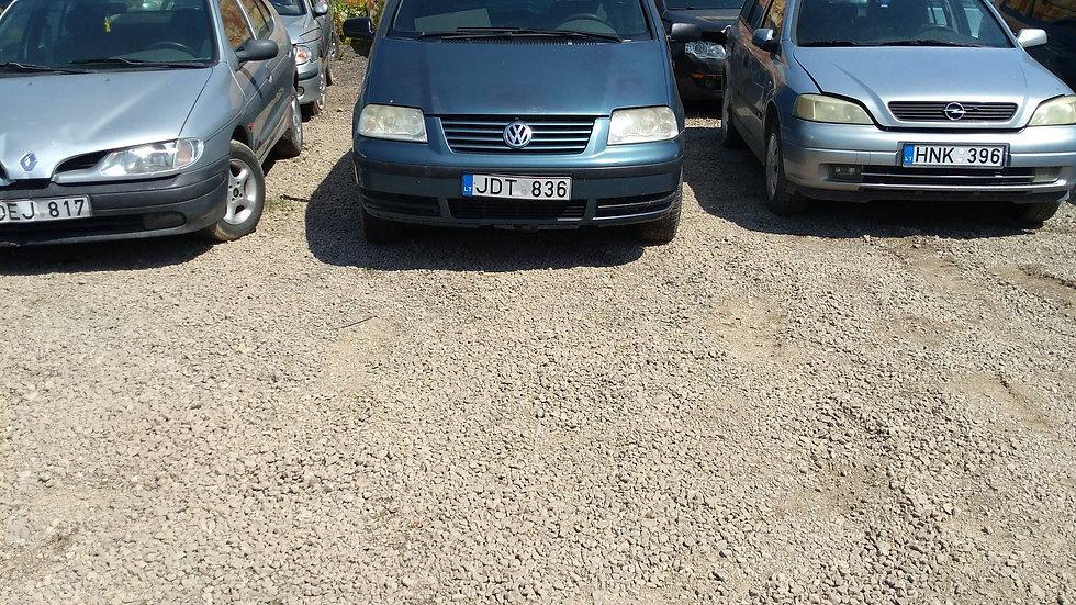 VW SHARAN V/N JDT836 2001M. KURAS DYZELINAS. DUOMENYS NENUSTATYTI.