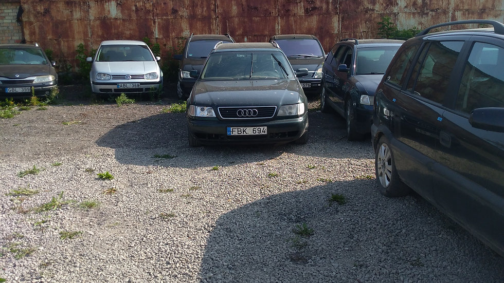 AUDI A6 V/N FBK694 1995M. KURAS DYZELINAS. DUOMENYS NENUSTATYTI.