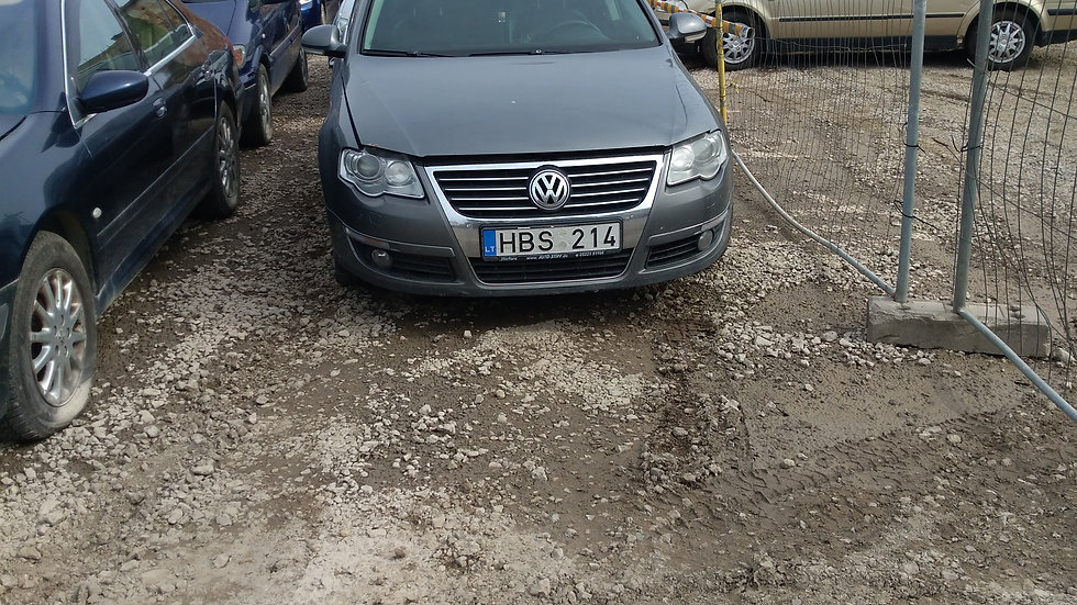VW PASSAT V/N HBS214 2007. KURAS DYZELINAS. DUOMENYS NENUSTATYTI.
