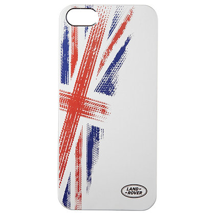 Union Flag iPhone 5 Case - Silver